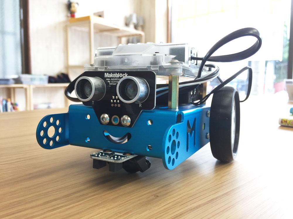 【ロボットプログラミング】mBot(エムボット)を少しだけ動かしてみよう!