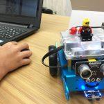 mBotでプログラミング体験。ロボットを動かしてみよう!