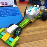 【小学生のプログラミング】LEGO WeDo2.0で前に進むロボットを作る