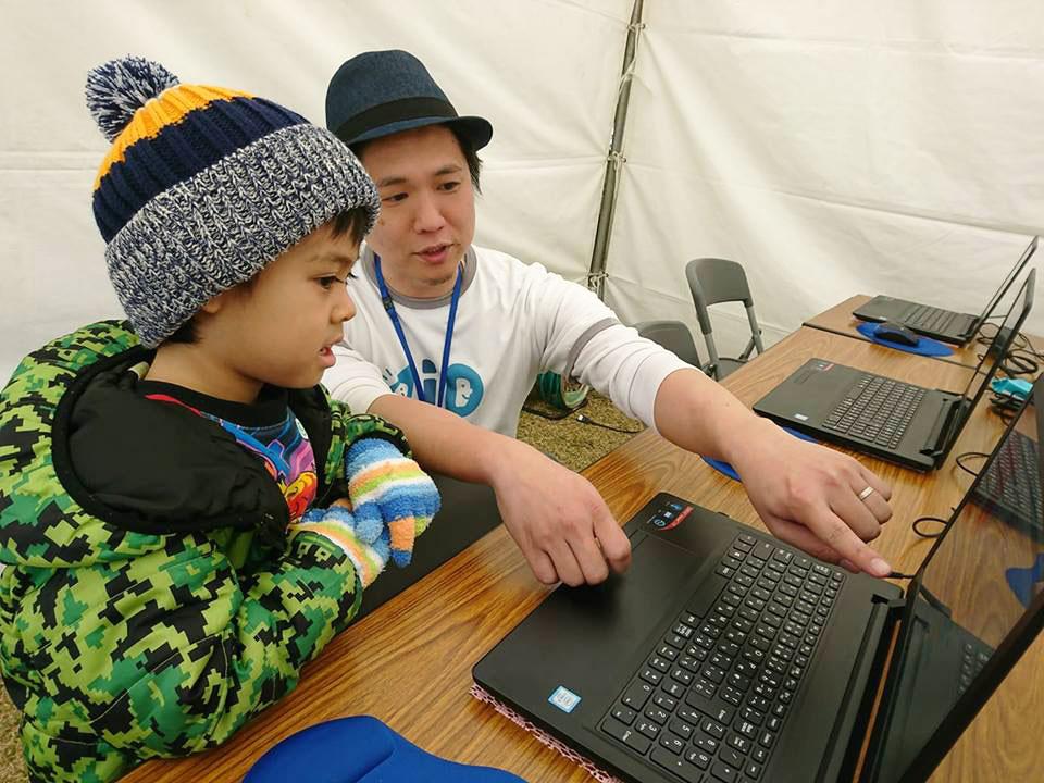 沖縄市サイエンスフェスタでプログラミング体験教室をしてきました!
