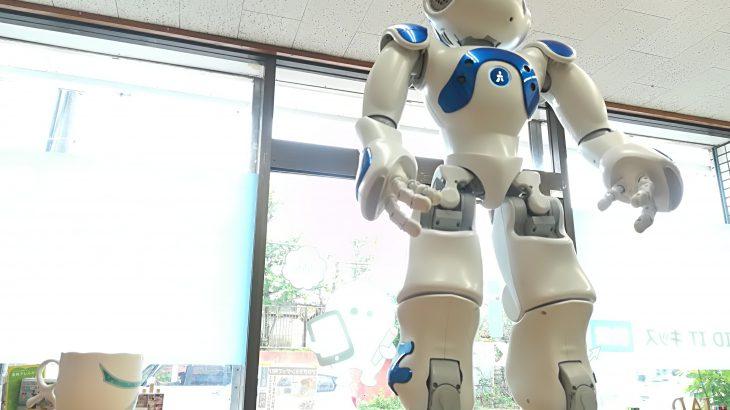 ヒューマノイドロボットNAOが超カッコ良かったー!