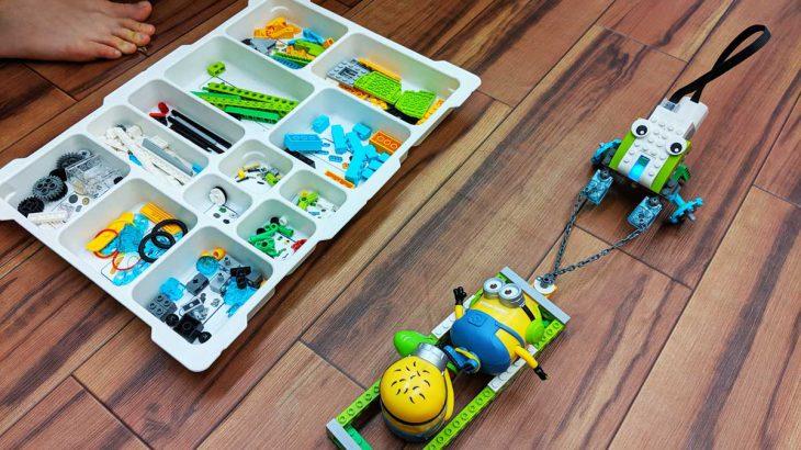 LEGO(レゴ)も使ってプログラミング学習をしている理由